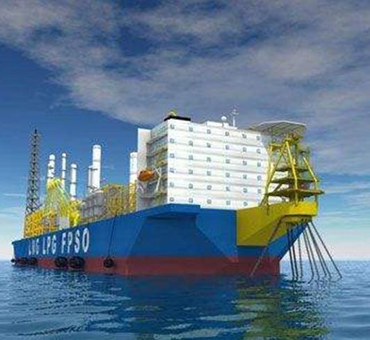 青岛武船重工有限公司的巴西油田FPSO水下浮体平台及海底埋件项目