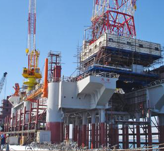 中油海承建的南堡项目