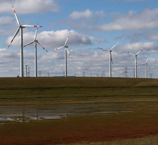 内蒙宁城风电项目的驻厂监造