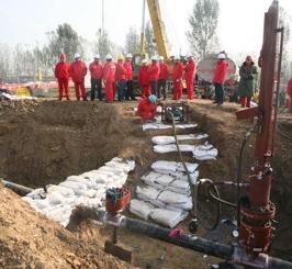 港枣成品油管道工程