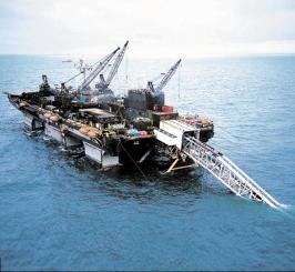 深圳半潜式深海渔场无损检测项目